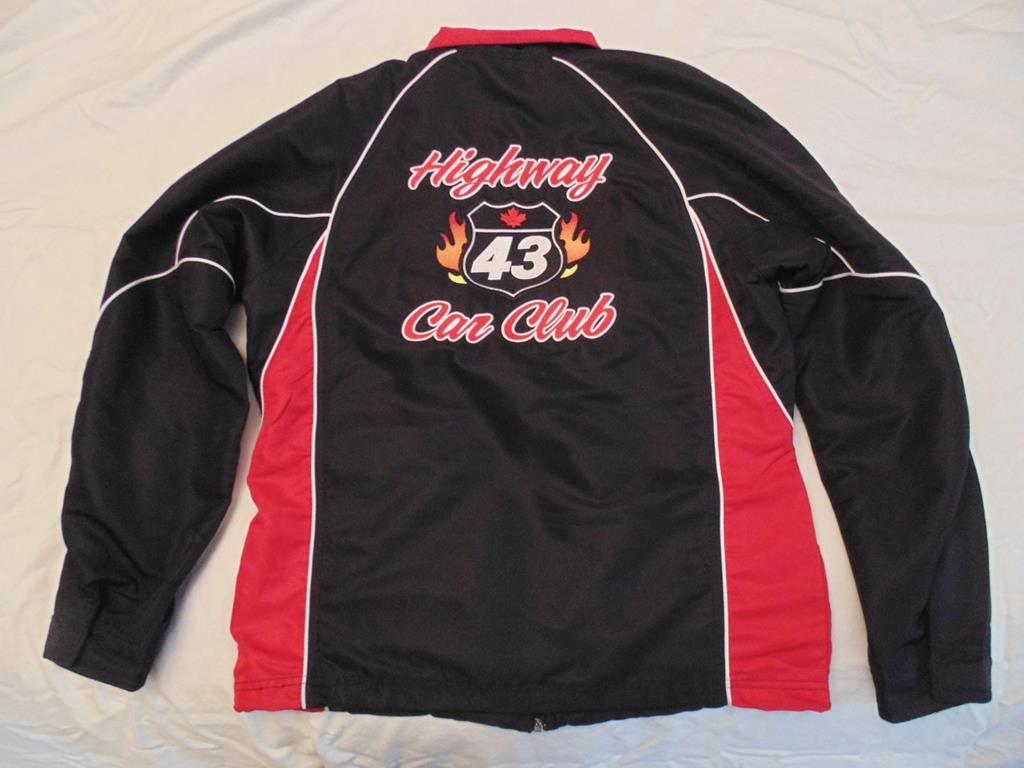 HWY43 Club Jacket Back