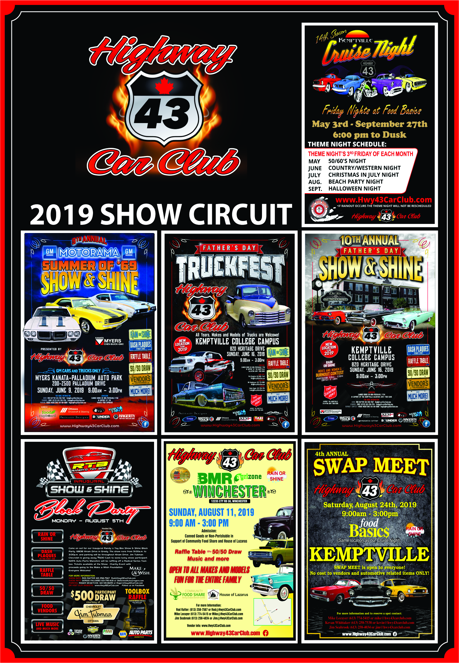 HWY43ShowCircuit2019
